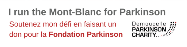 I run the Mont-Blanc for Parkinson